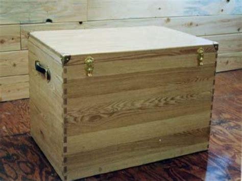 hand  custom oak tack box  larue woodworking