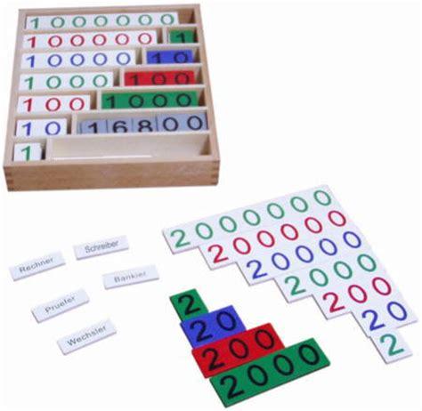 lenwelt de bankspiel 252 ber 100 teile montessori material lernwelt