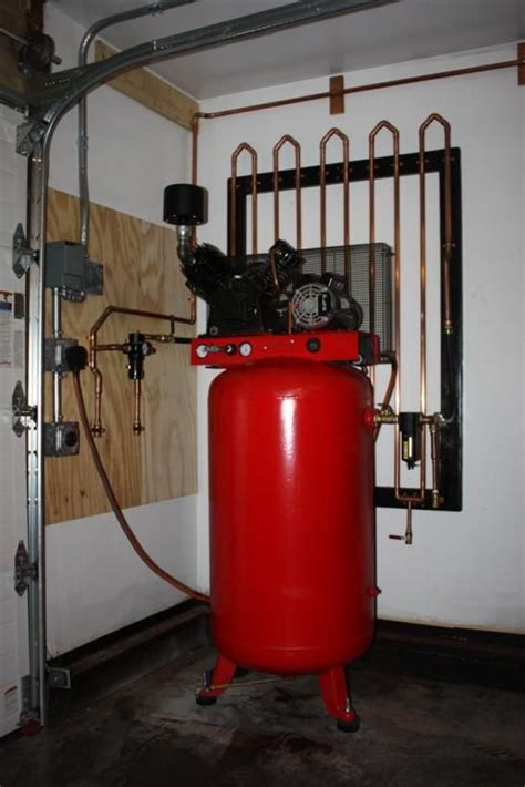 compressor condensing manifold cools the air so you pull the water out essential for