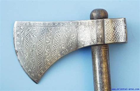 ottoman axe oriental arms set of ottoman battle axe war hammer