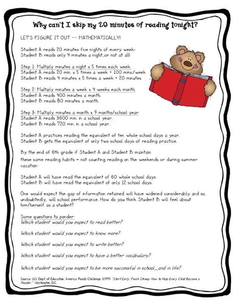 Parent Letter Explaining Guided Reading 63 best images about need to on why read