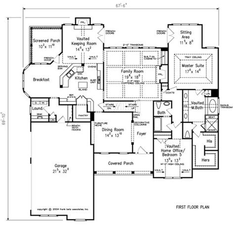 eat in kitchen floor plans home plans and house plans by frank betz associates
