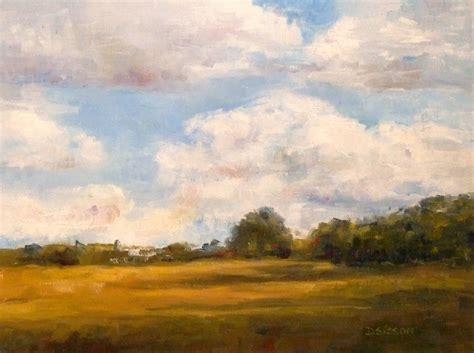 Landscape Artists Fields Daily Painting Projects Country Sky Painting