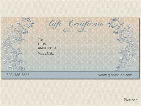 gift certificate design your own 8 best images of create your own certificate templates