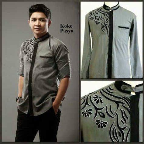 baju koko keren baju koko modern baju pria muslim baju koko lengan panjang muslim pria model terbaru keren