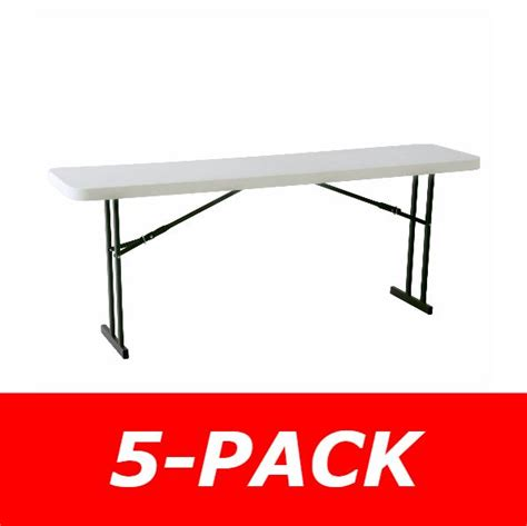 Lifetime 8 Foot Table by Lifetime Folding Seminar Tables 580177 8 Foot White