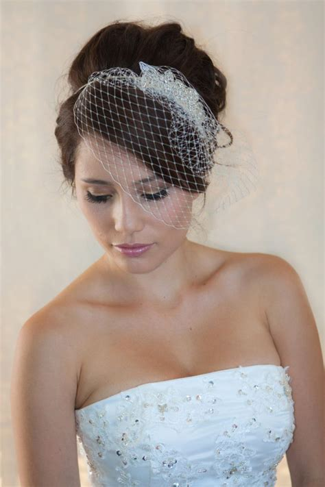 American Wedding Hairstyles With Birdcage by 17 Best Ideas About Birdcage Veils On Veil