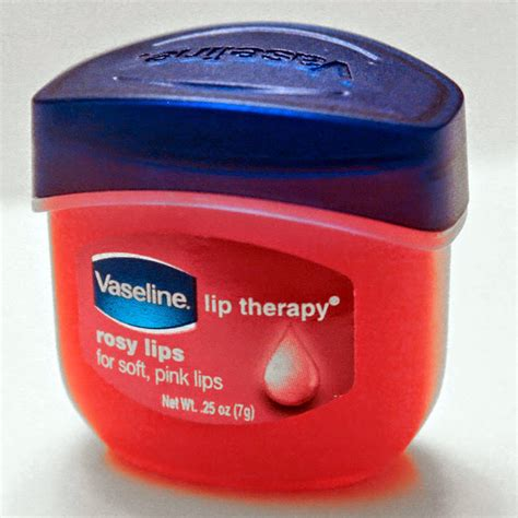 Mini Vaseline Rosy Lip Therapy For Soft Pink 7 Gram Sa28 M vaseline lip therapy rosy flavor chapped 25 oz mini