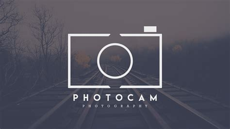Photography Logo Design Adobe Photoshop Cc Tutorial Youtube Free Photography Logo Templates For Photoshop