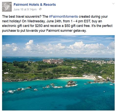 Marriott Gift Card Promotion 2015 - buy fairmont gift cards at 20 bonus on june 24 2015 at 1pm 4pm edt loyaltylobby