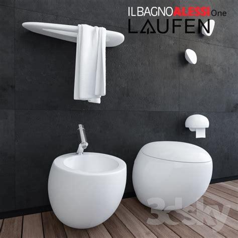 accessori bagno alessi 3d models toilet and bidet laufen il bagno alessi one
