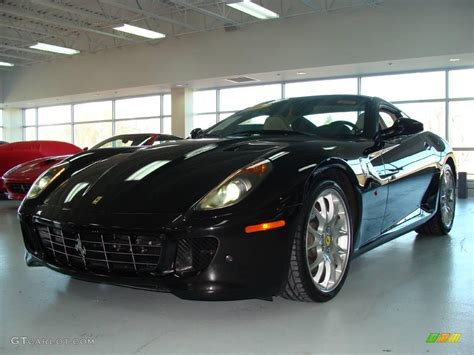 599 gtb fiorano black 2007 nero daytona black metallic 599 gtb fiorano