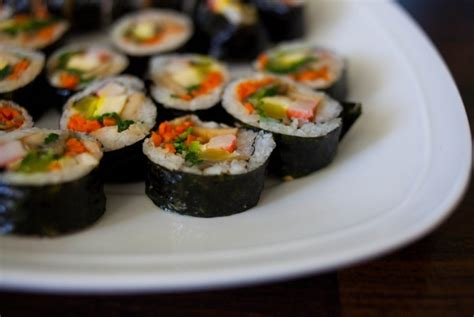 Korean Myeok Rumput Laut Korea kiat membuat makanan khas korea kimbab republika