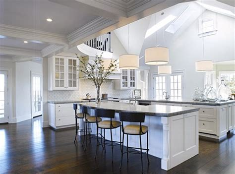 kitchens with 2 islands white kitchens interior design inspiration designs