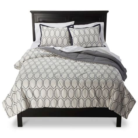 threshold bedding threshold diamond lattice comforter set ebay