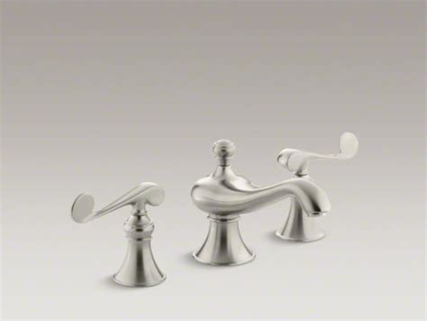 kohler revival bathroom faucet kohler revival r widespread bathroom sink faucet with scroll lever handles