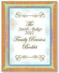 family reunion booklet sle family reunion booklet templates
