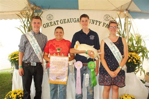 geauga county warden geauga county fair market livestock sale results farm