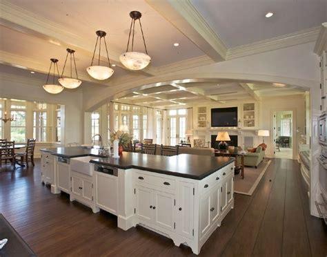 Open Kitchen Great Room Floor Plans