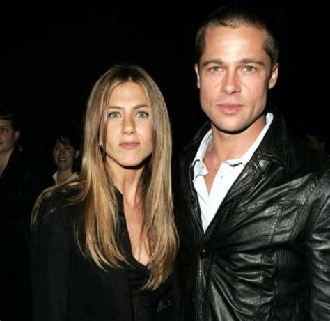 Brads Tells Jen He Still by Brad Pitt And Aniston Reconnect As He