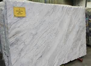 Types Of Kitchens a slab of super white sold as granite