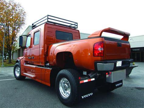 volvo trucks showcases custom built vhd pickup