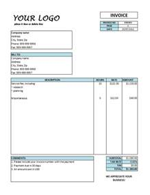 hourly invoice template word hourly invoice template hourly rate invoice templates free