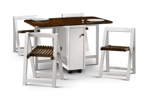 Foldable Furniture Foldable Furniture Set For Small Compact Folding Dining Table And Chairs