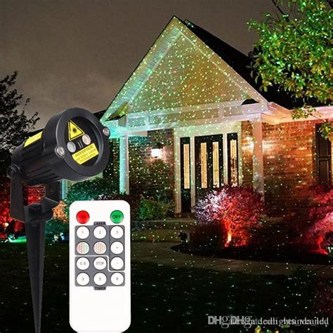 christmas strobes 2016 laser garden lights decorative l and green light auto strobe outdoor