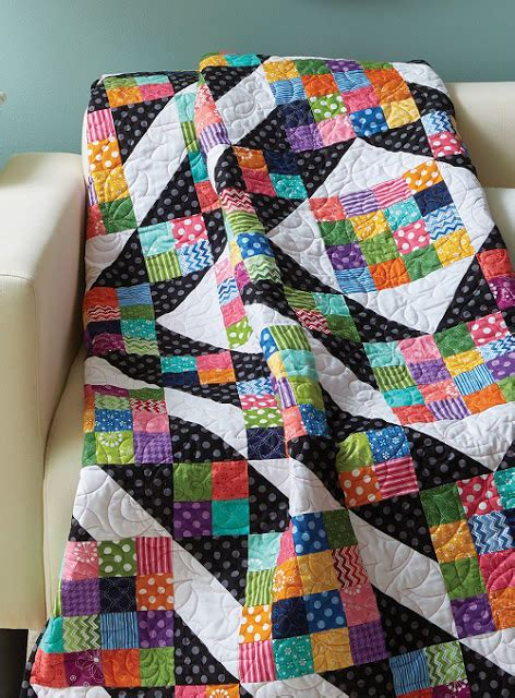 Colourful Patchwork Quilt - quilt colorful square patchwork