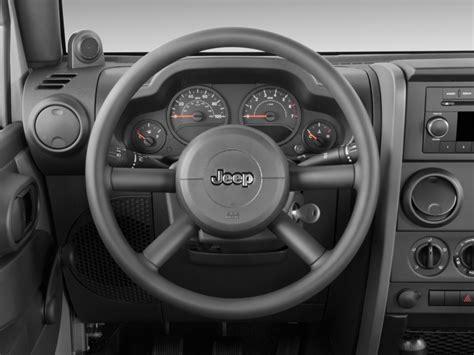 Jeep Steering Wheel Size Image 2009 Jeep Wrangler 4wd 2 Door X Steering Wheel