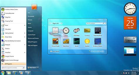 Calendario Area De Trabalho Windows 7 Resumo Do Windows 7