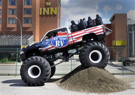 monster truck show edmonton ex citement revs up at monster truck show capital ex