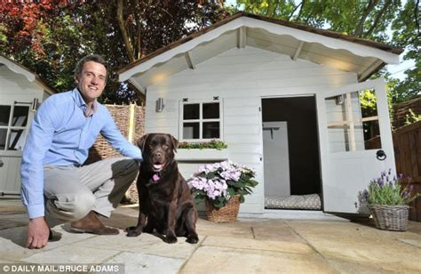 heat l dog house the 163 3 000 dog kennel that s far too nice for fido daily mail online