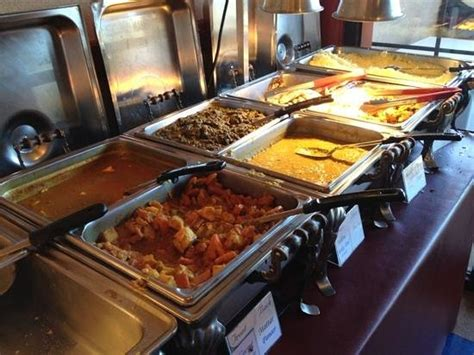 section of the lunch buffet picture of india house
