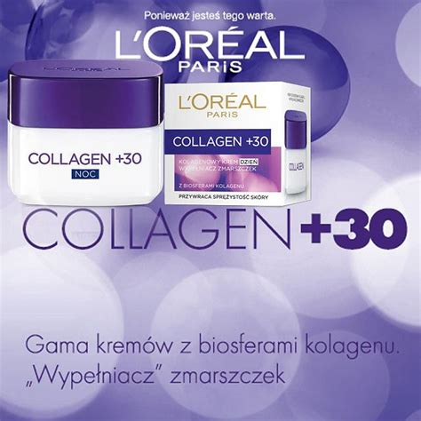 Collagen Moros l oreal collagen 30 wype蛯niacz zmarszczek
