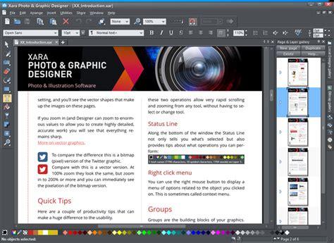google graphic design software xara photo graphic designer 365 v12 5 0 software