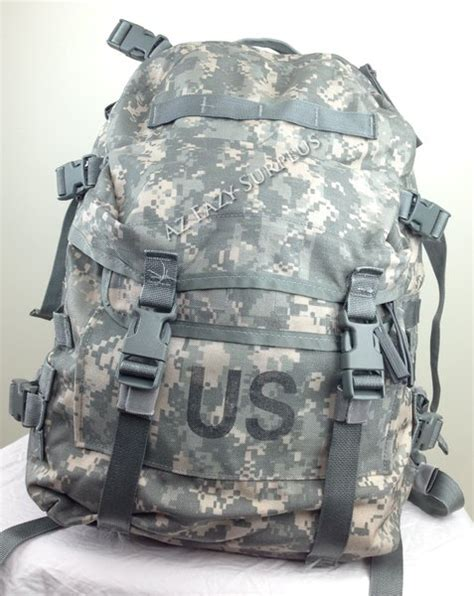 Tas Outdoor Gaolema Blue Army by Us Issue Molle Ii Acu 3 Day Assault Pack