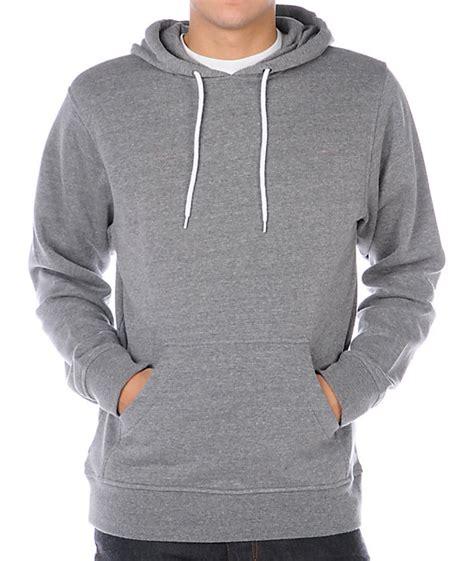 Sweater Zip Hoodie Hearther Grey Zlstore zine pulley grey pullover hoodie at zumiez pdp