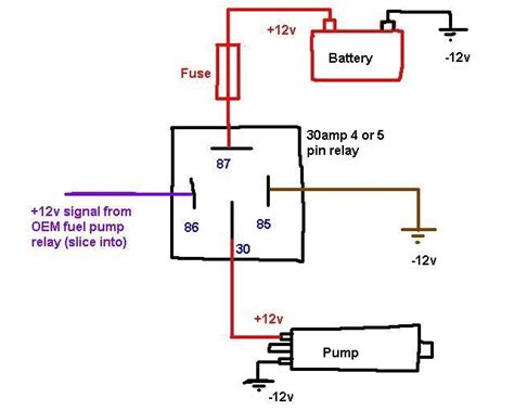 6 volt 5 prong relay wiring diagram on 6 images free