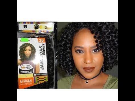 crochet braids jamaican bounce hair impression