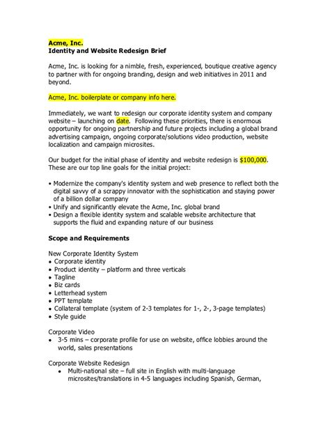 Business Analyst Resume Templates Samples by Sample Identity And Web Rfp