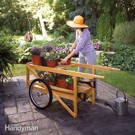 construct  classic wooden cart  family handyman