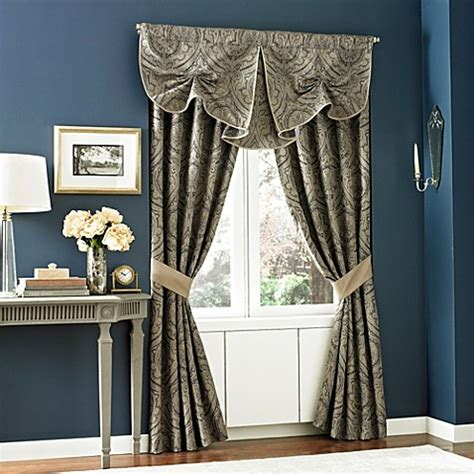 Croscill Hannah Curtsey Window Treatments Bed Bath Beyond Bedding Sets With Window Treatments