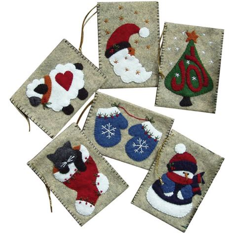 weekend kits blog diy christmas ornaments felt stocking