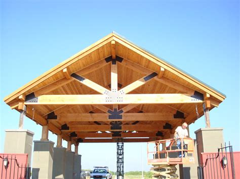 large timber trusses photo gallery building products plus
