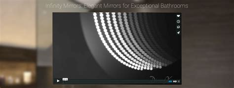flabeg bathroom mirrors infinity mirror led infinity mirror illuminated mirrors uk