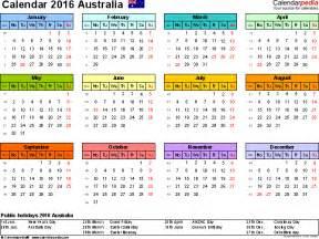 calendar template australia australia calendar 2016 free printable pdf templates