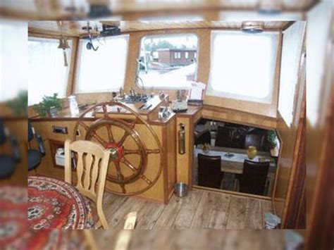 living on a boat price converted dutch barge living ship for sale daily boats