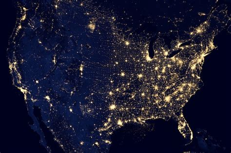 Backyard Artillery 5 Incredible Wallpapers Of Earth At Night From A Nasa